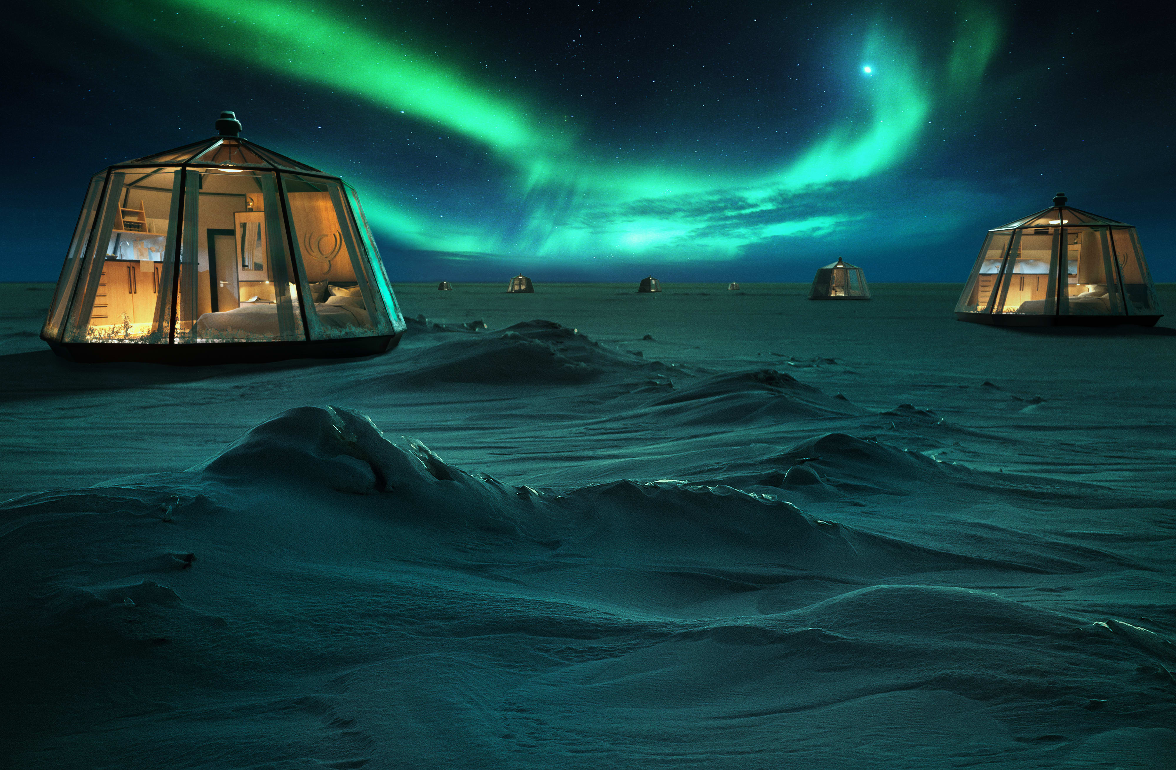 Pop-up hotel in the North Pole will charge guests $100,000 to stay