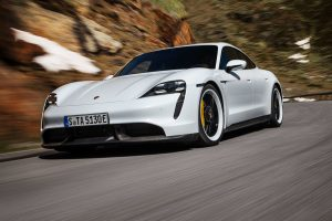 Porsche debuts Tesla's newest competition with the all-electric Taycan