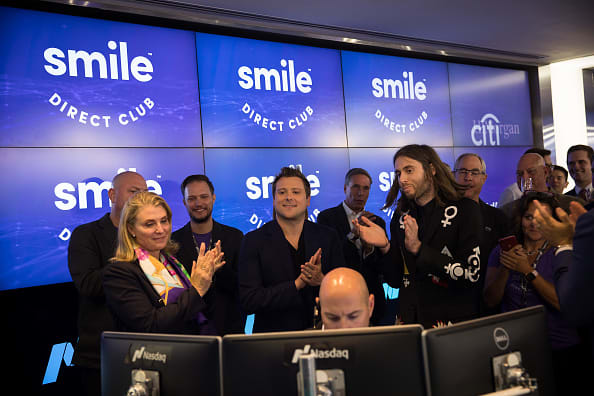SmileDirectClub jumps in second trading day, after disappointing IPO