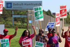 'Some progress' made in contract talks as strike against GM continues