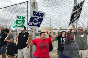 Striking UAW workers want Trump to stay out of negotiations with GM