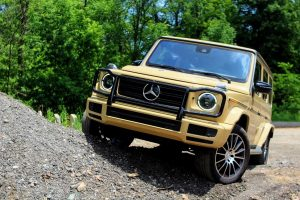 The 2019 Mercedes G550 SUV redefines the luxury, off-road experience
