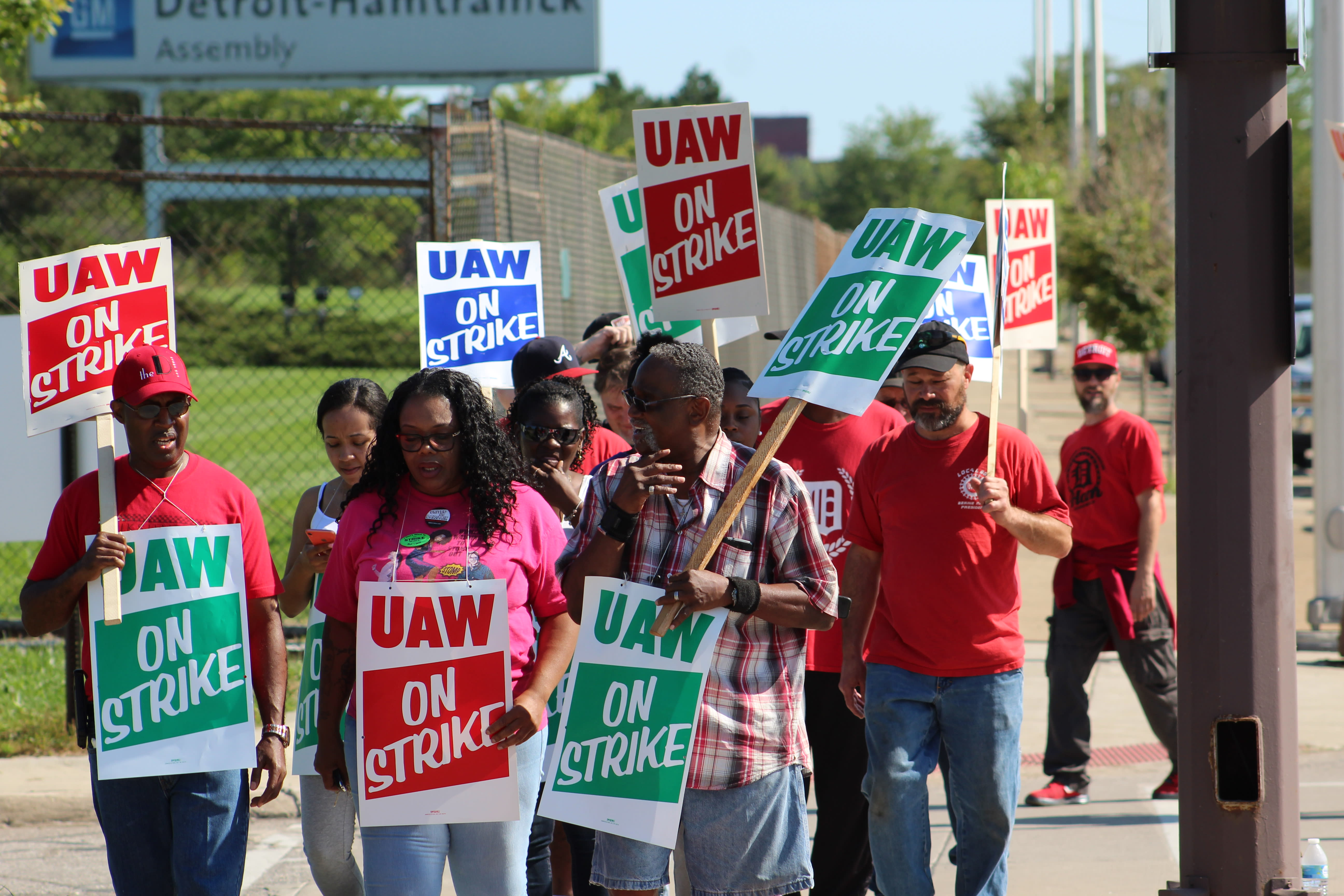 Thousands more workers furloughed as GM and suppliers idle plants in UAW strike