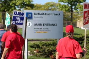 UAW strike threatens Michigan's bonds, could push state into recession