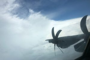 What it's like to fly through the eye of Hurricane Dorian, in the name of safety