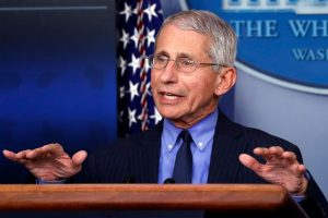 Dr. Anthony Fauci says Americans who don't wear masks may 'propagate the further spread of infection'
