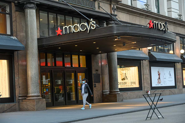 Macy's raises $4.5 billion, shares jump on additional liquidity