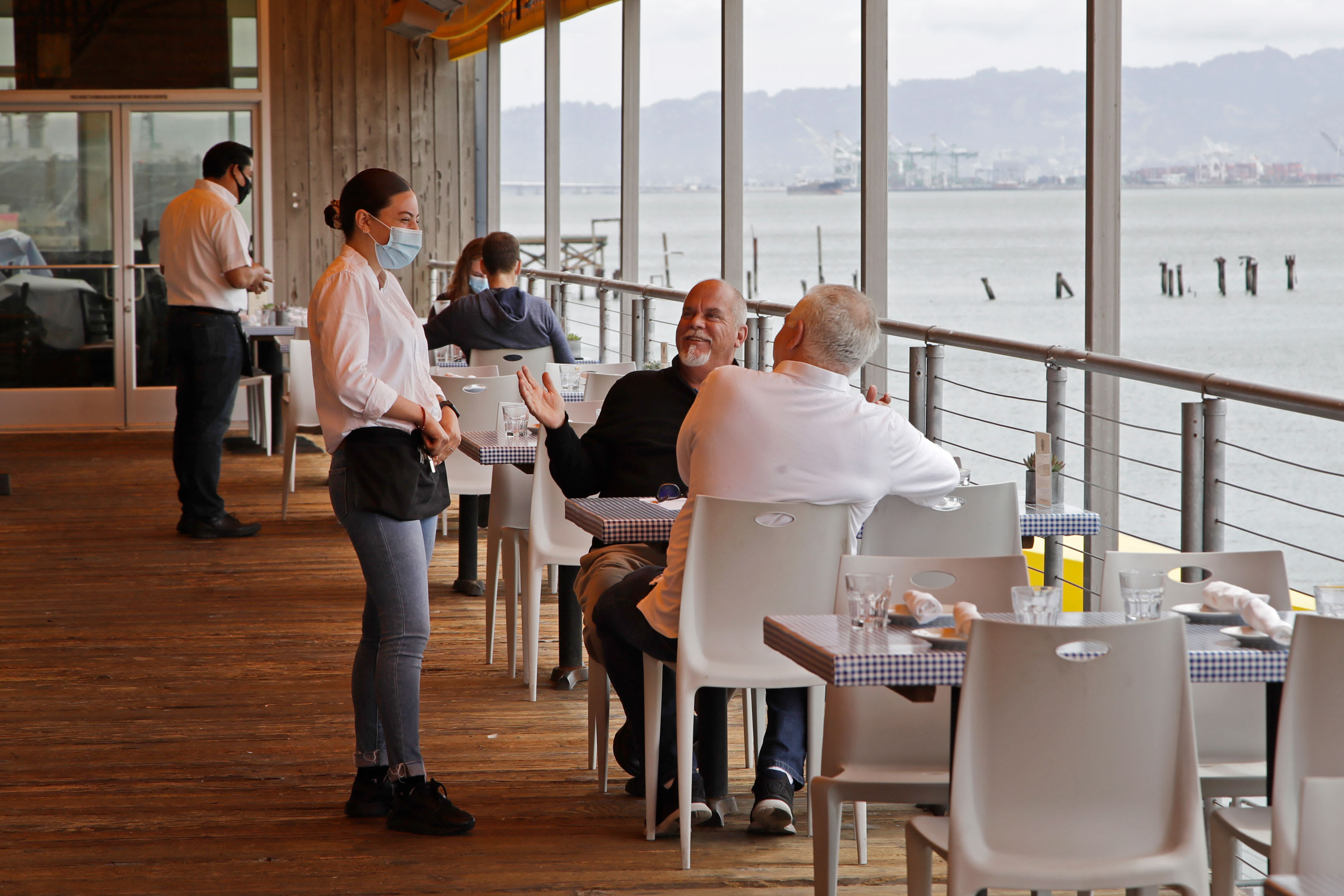 San Francisco opens outdoor dining, indoor shopping