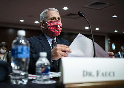 Fauci says U.S. coronavirus outbreak is 'going to be very disturbing,' could top 100,000 cases a day