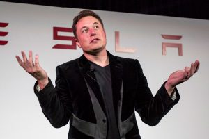 Tesla gives up most of monster one-day pop in wild speculative trading