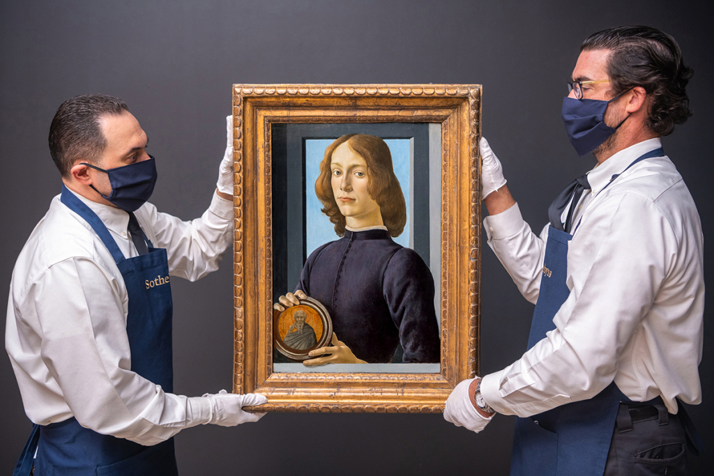 $80 M. Botticelli Portrait Could Break Records—and More Art News – ARTnews.com