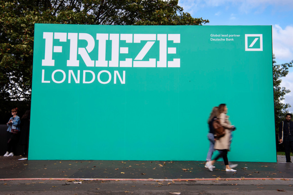 Frieze London and Frieze Masters Reveal Exhibitors in 2020 Exhibition – ARTnews.com