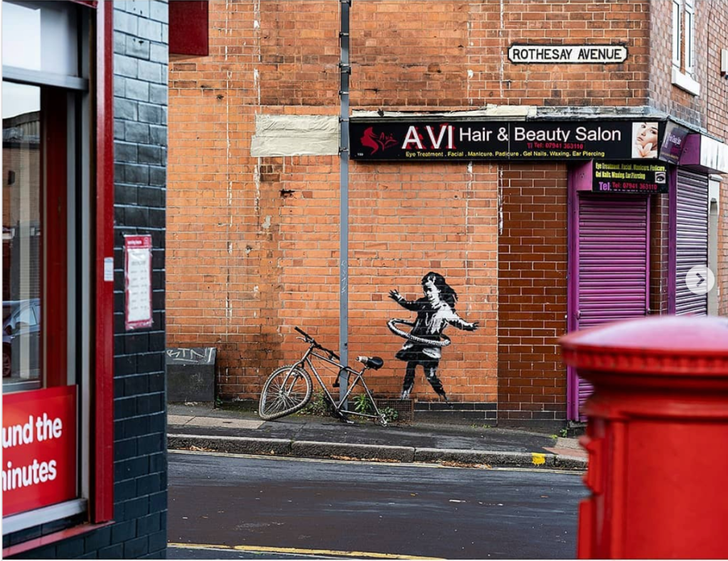 Banksy Unveils New Work in United Kingdom—and More – ARTnews.com