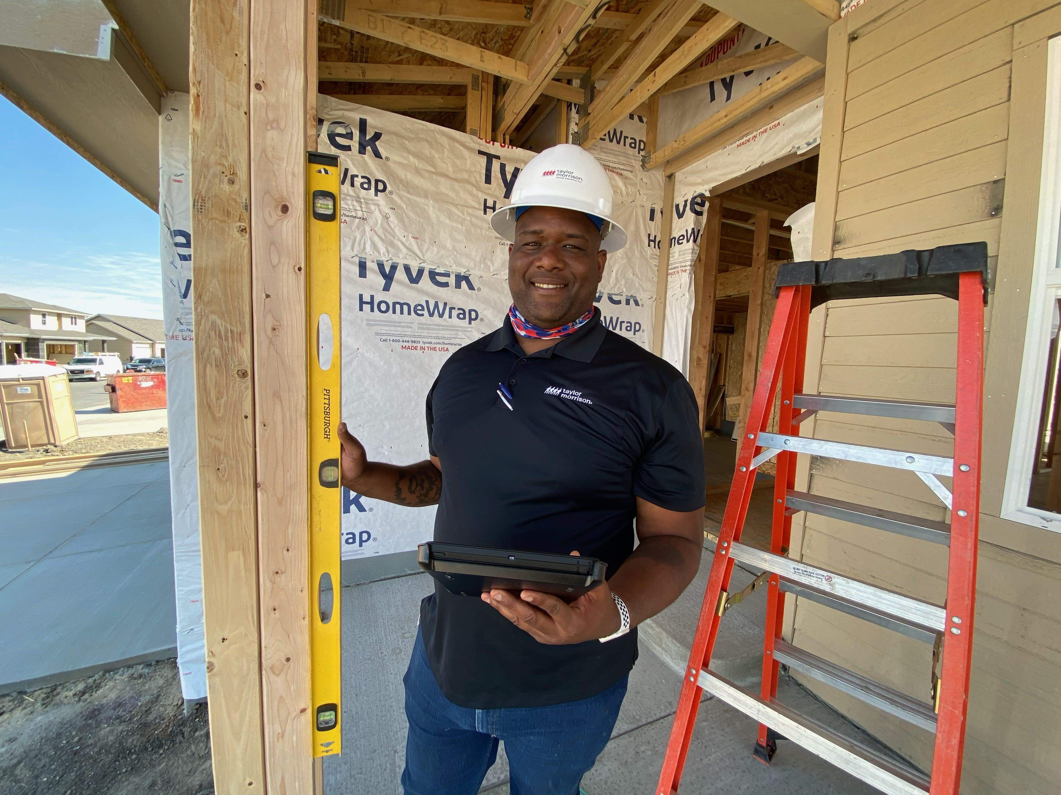 This chef got Covid, got laid off and then became a homebuilder