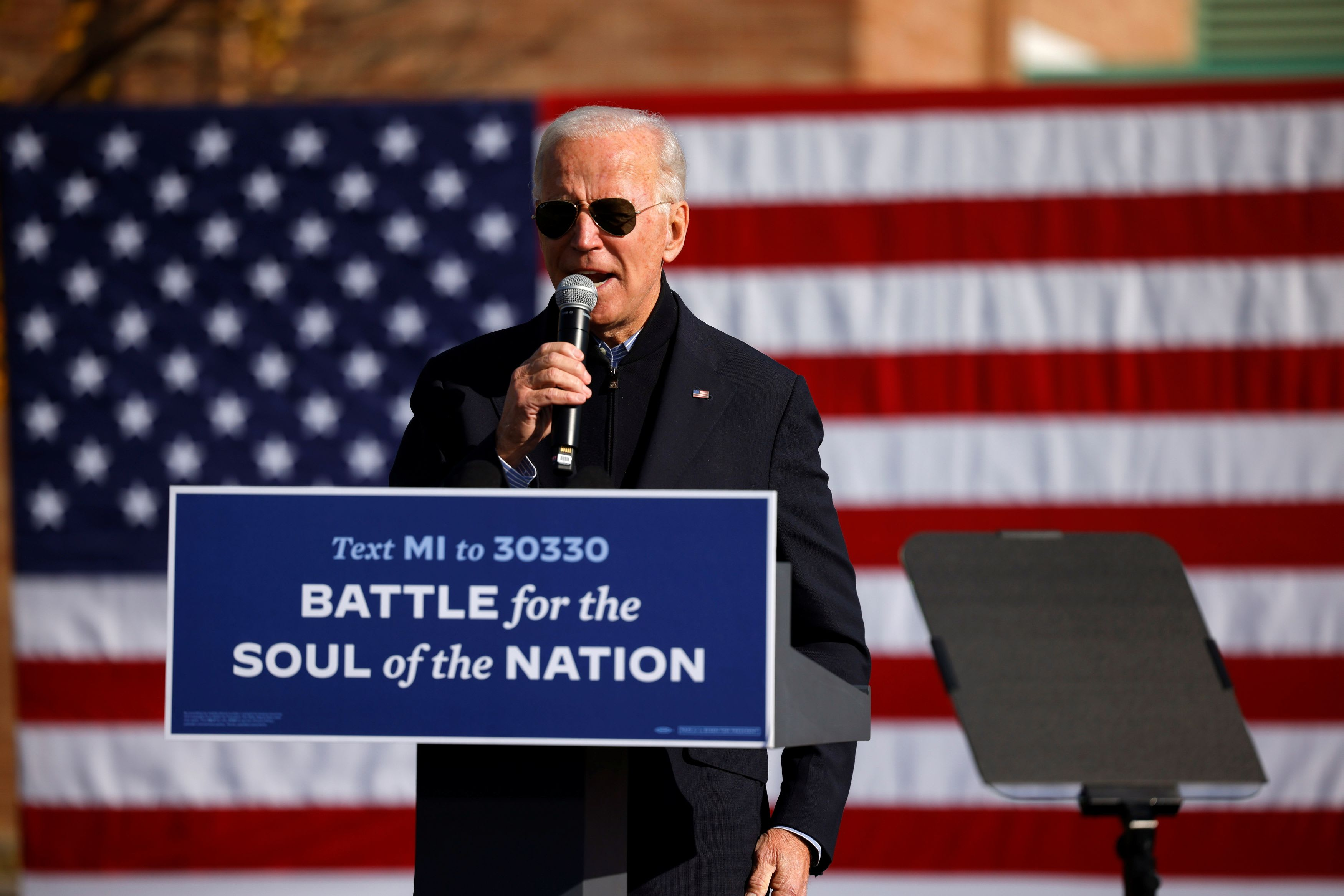 Biden leads Trump by 10 points in final days before election: NBC/WSJ poll