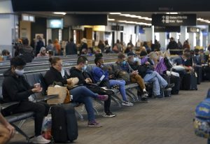 Thanksgiving travel is 'pouring gasoline on a fire'