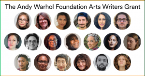 Warhol Foundation Writer Grant Winners Named for 2020 Edition – ARTnews.com