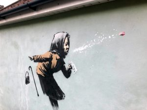 Banksy Unveils Sneeze-Themed Mural in Bristol – ARTnews.com