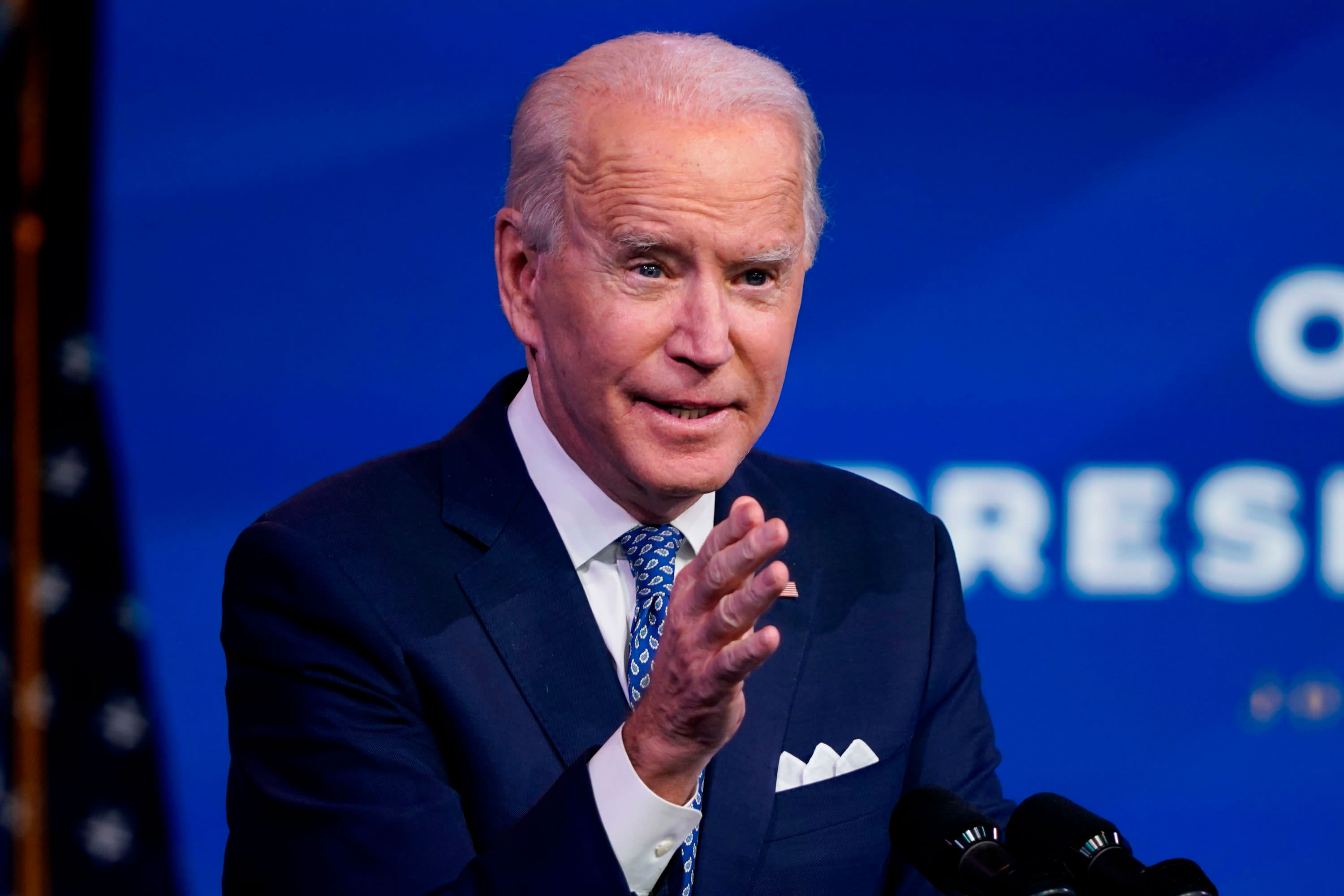 Biden warns doses won't stop deaths of 'tens of thousands' Americans