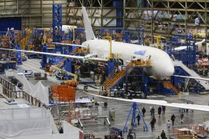 Boeing trims 787 production target, citing pandemic, slower deliveries
