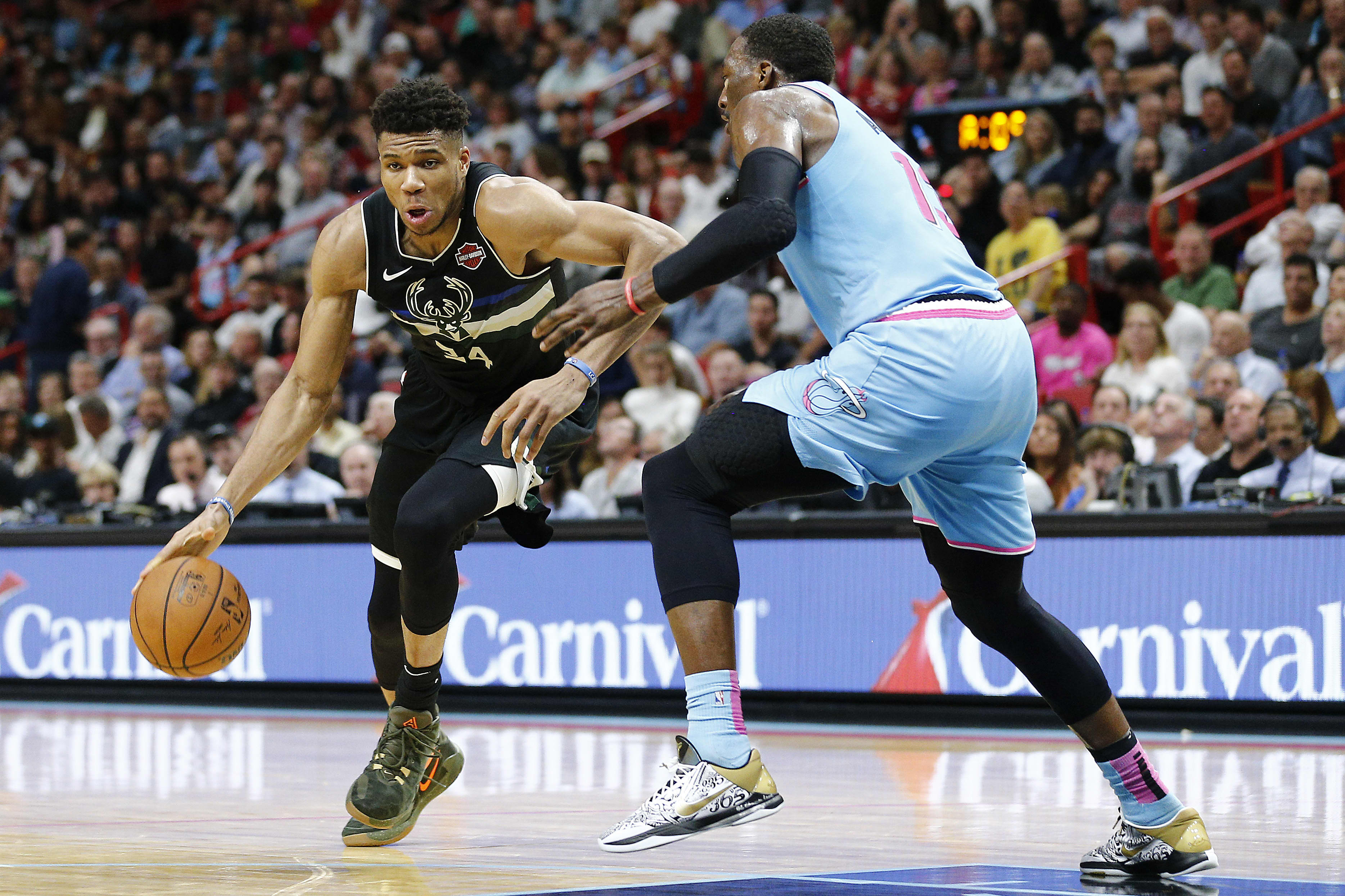 Milwaukee Bucks credit 'Giannis effect' for uptick in business