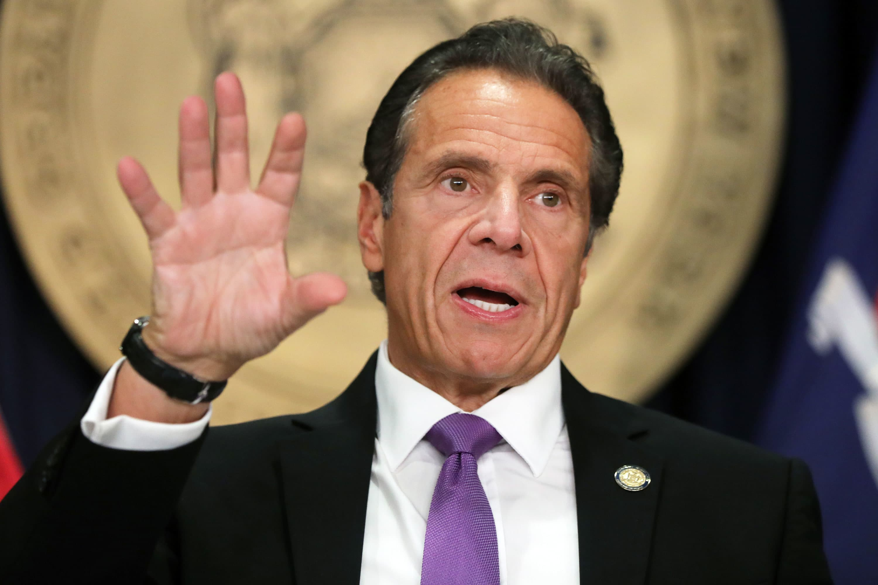 New York Gov. Cuomo warns a January economic shutdown is possible as Covid cases soar to springtime records