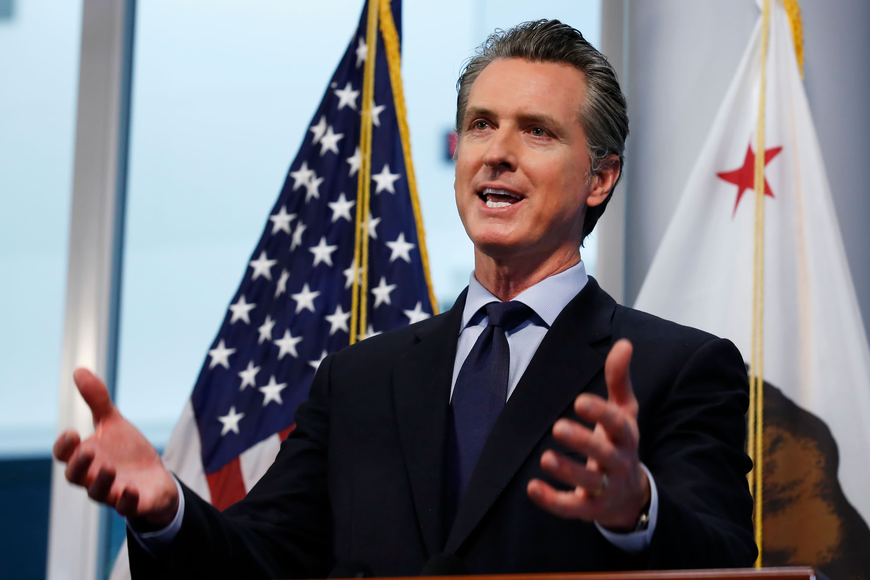 Newsom to impose regional stay-at-home order to ease hospitalizations