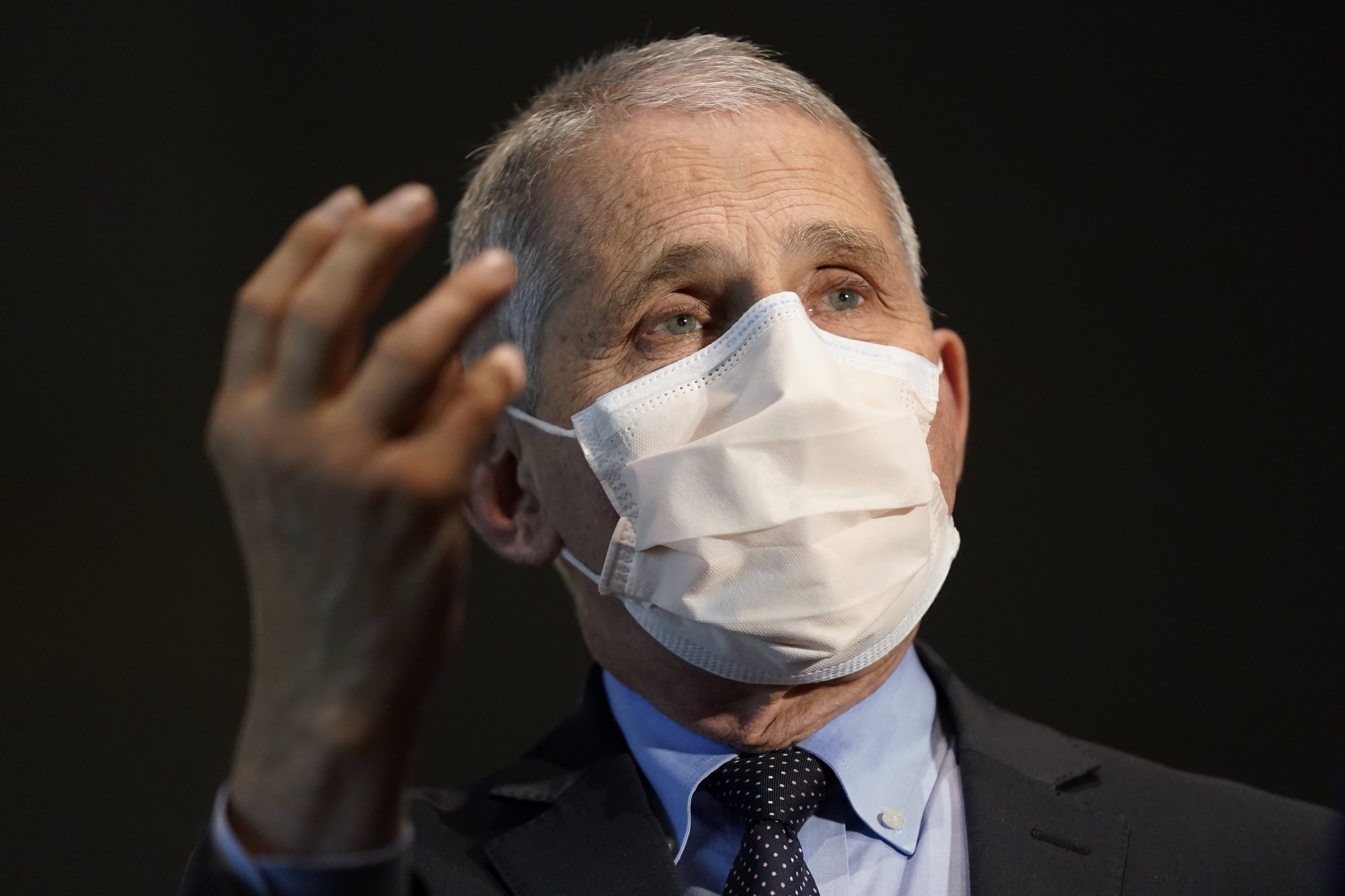 Dr. Fauci says slow Covid vaccine rollout has been 'disappointing'