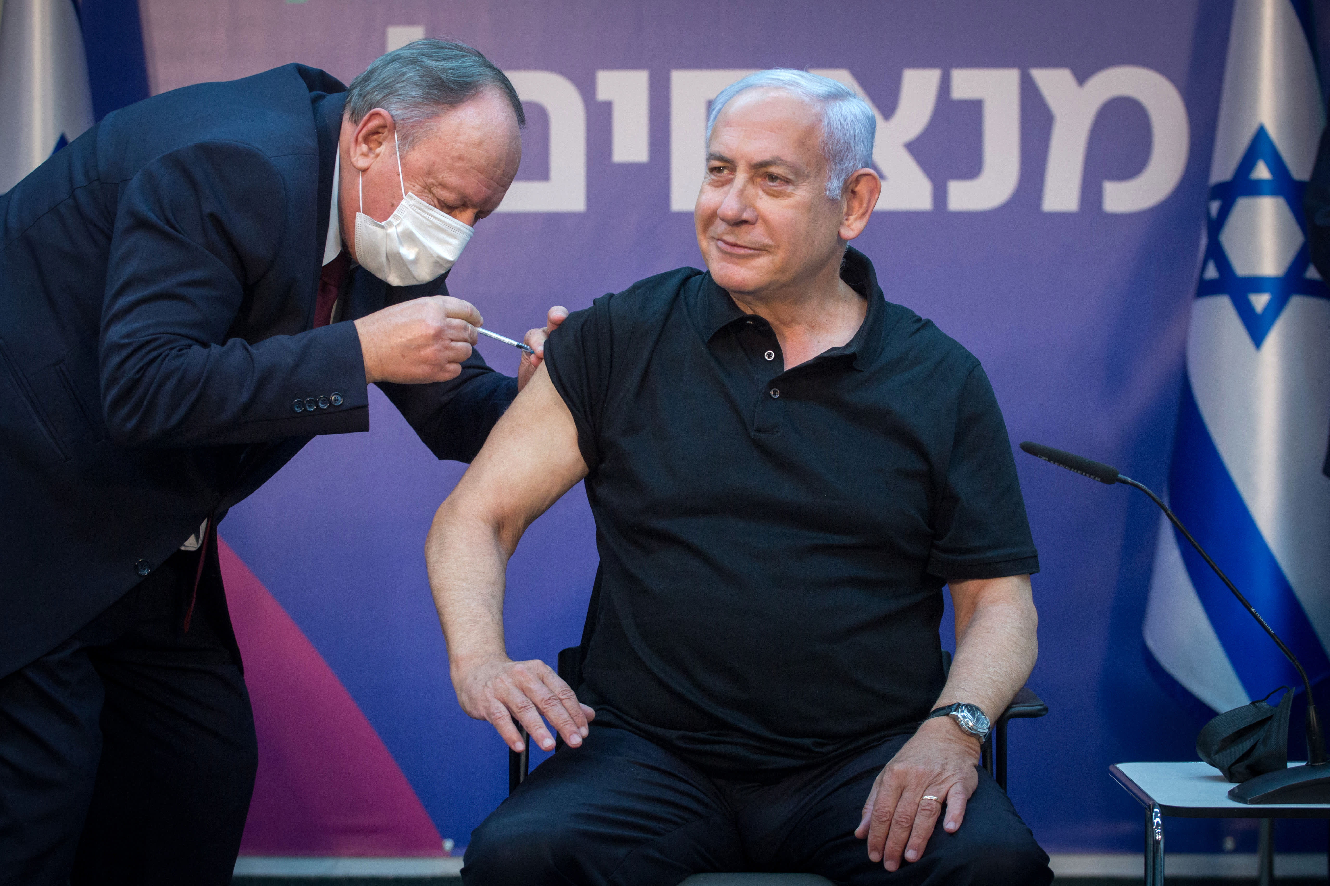 Israel's massive vaccine drive isn't keeping up with new cases — especially among younger victims