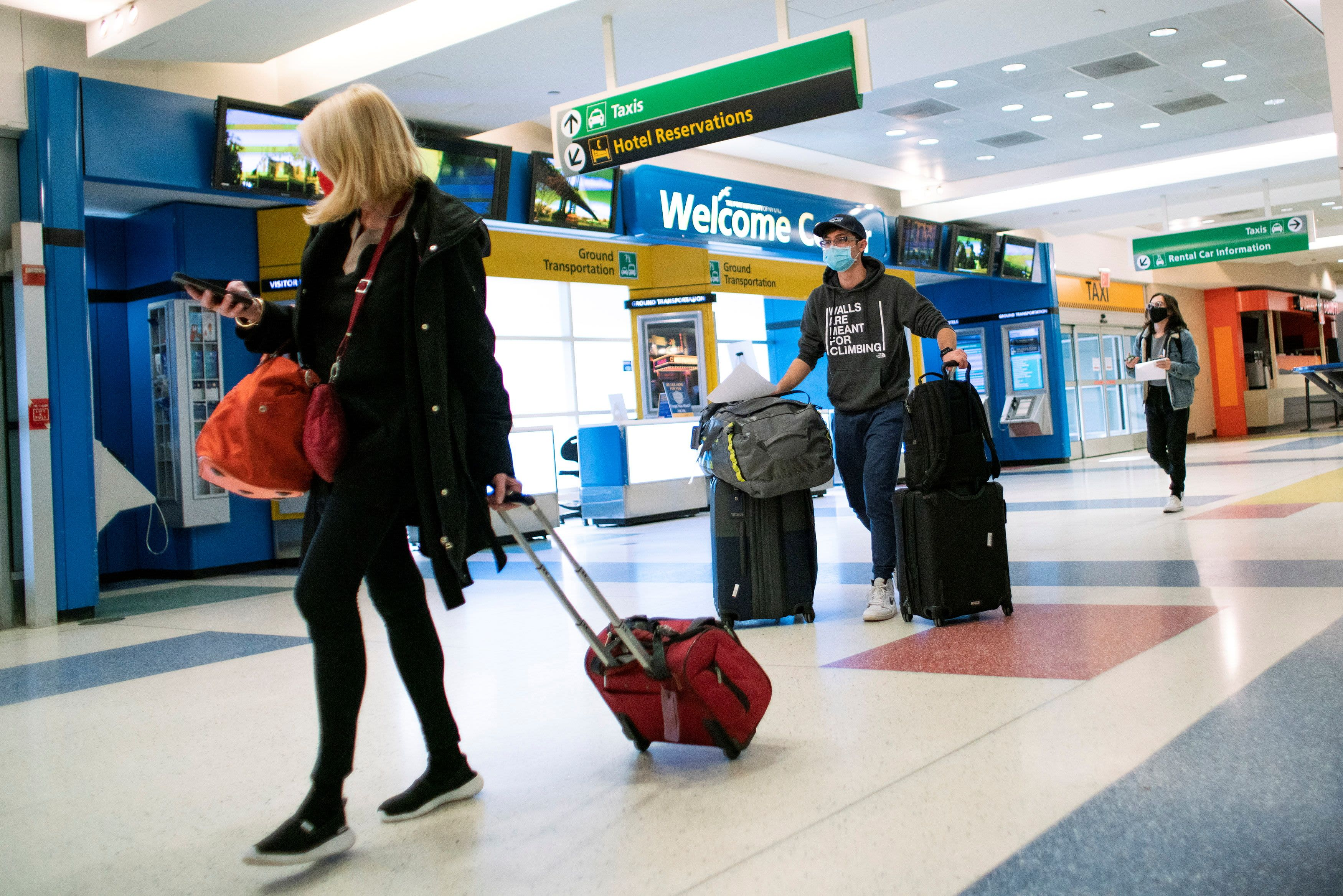 US will require negative Covid tests for inbound international air travel