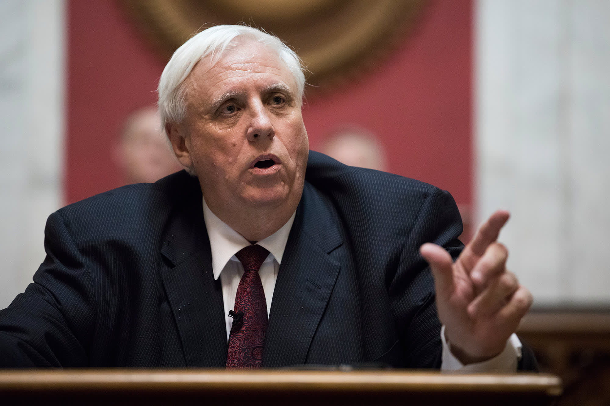 West Virginia governor claims every person over 65 could be vaccinated by Valentine's Day