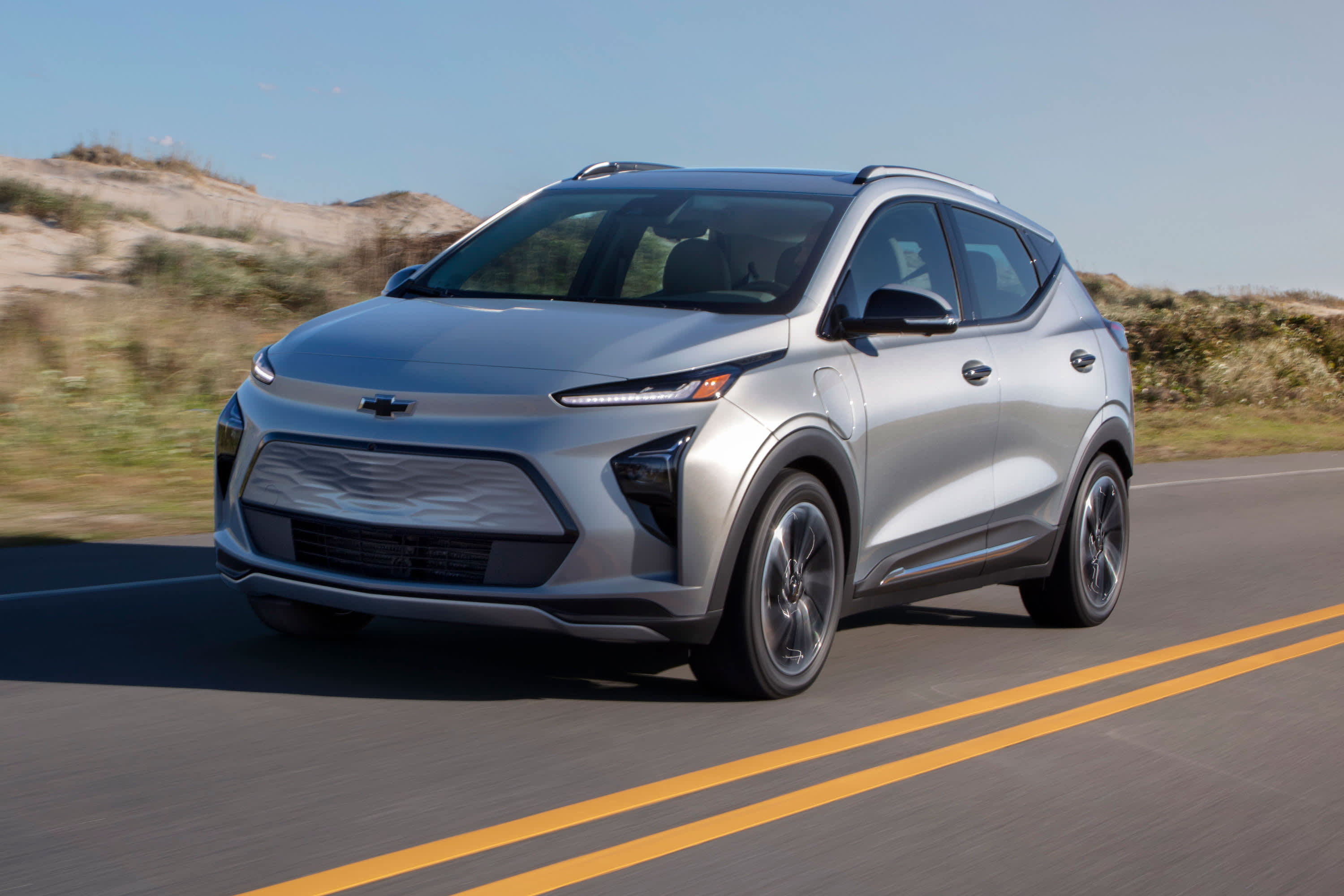 GM unveils all-electric Chevy Bolt EUV and redesigned, less-expensive Bolt EV