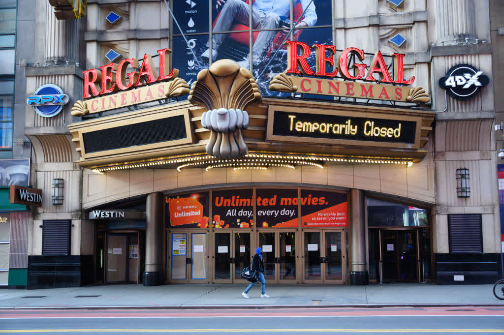 Movie theaters in New York City can open in March at 25% capacity