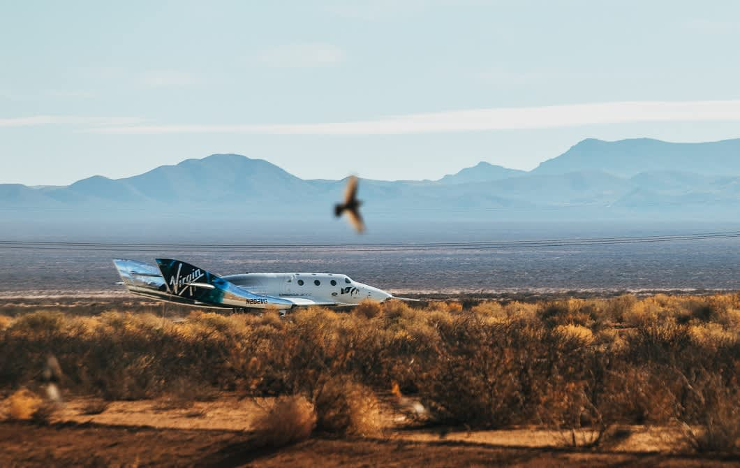 Virgin Galactic SPCE pops with next spaceflight as early as Feb 13