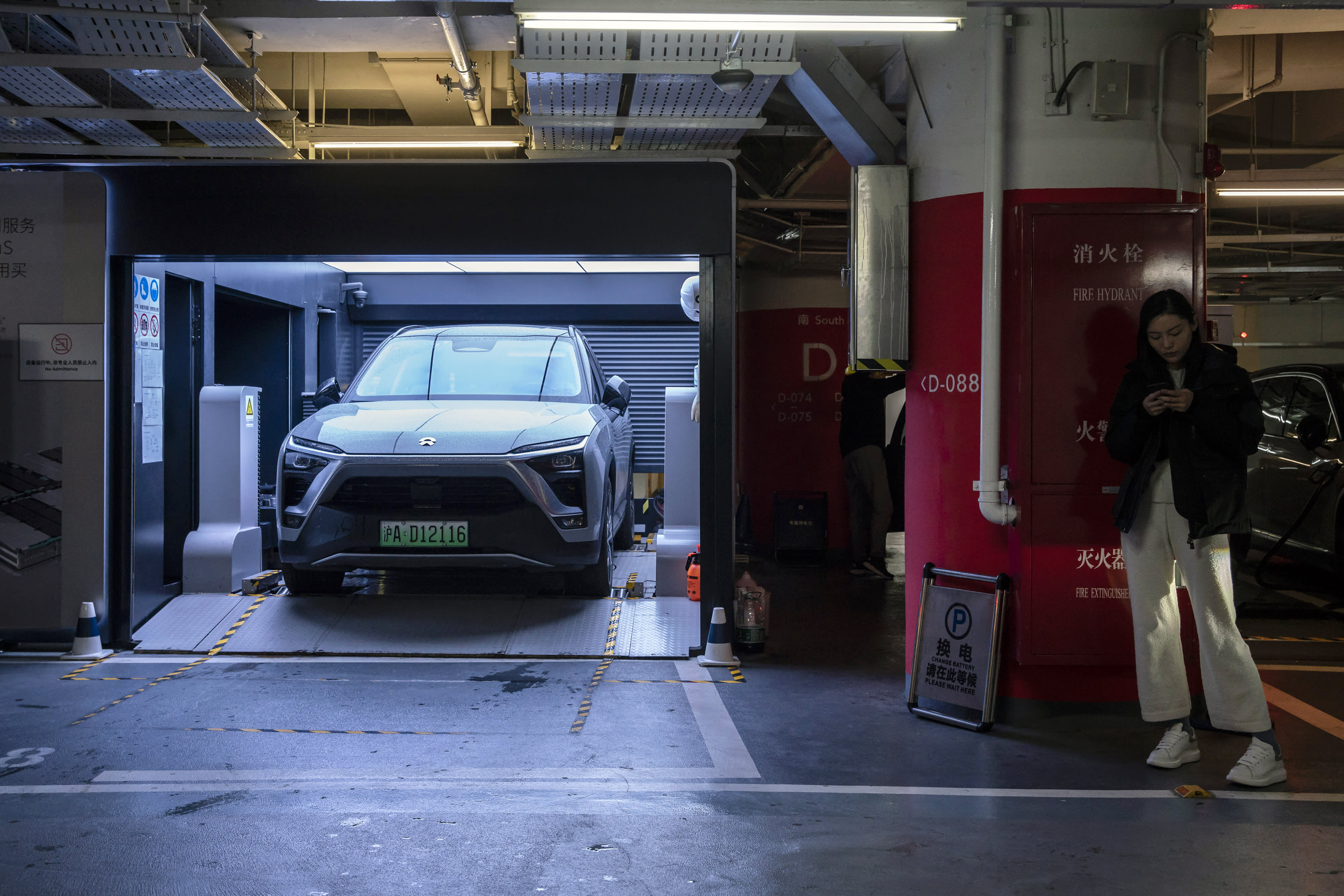 Chinese Tesla rival Nio says global chip shortage will hit its electric car production
