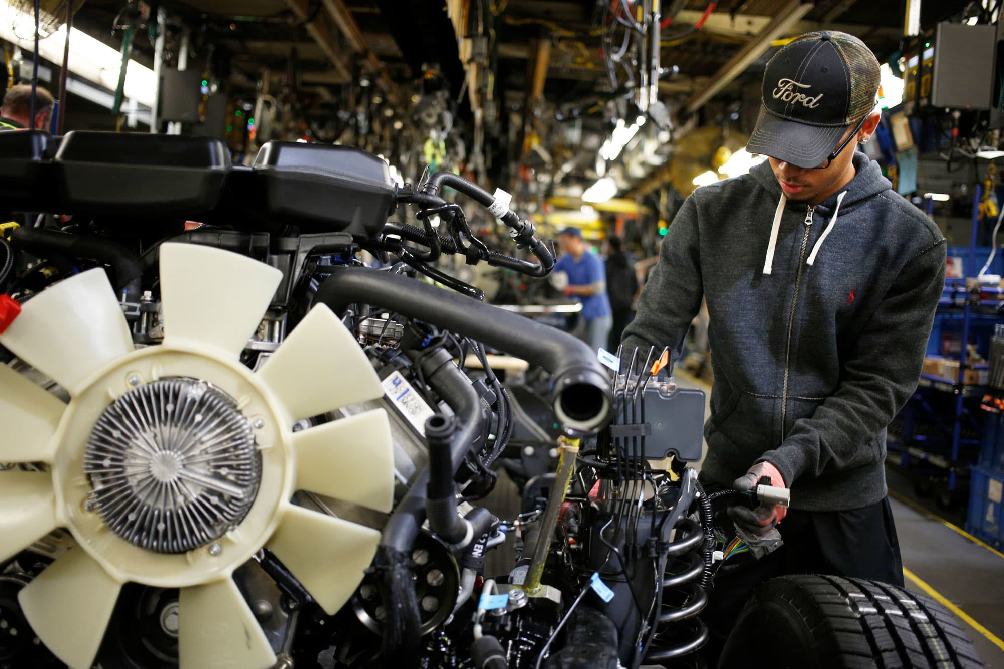 Chip shortage has Detroit automakers struggling to maintain truck production and meet orders