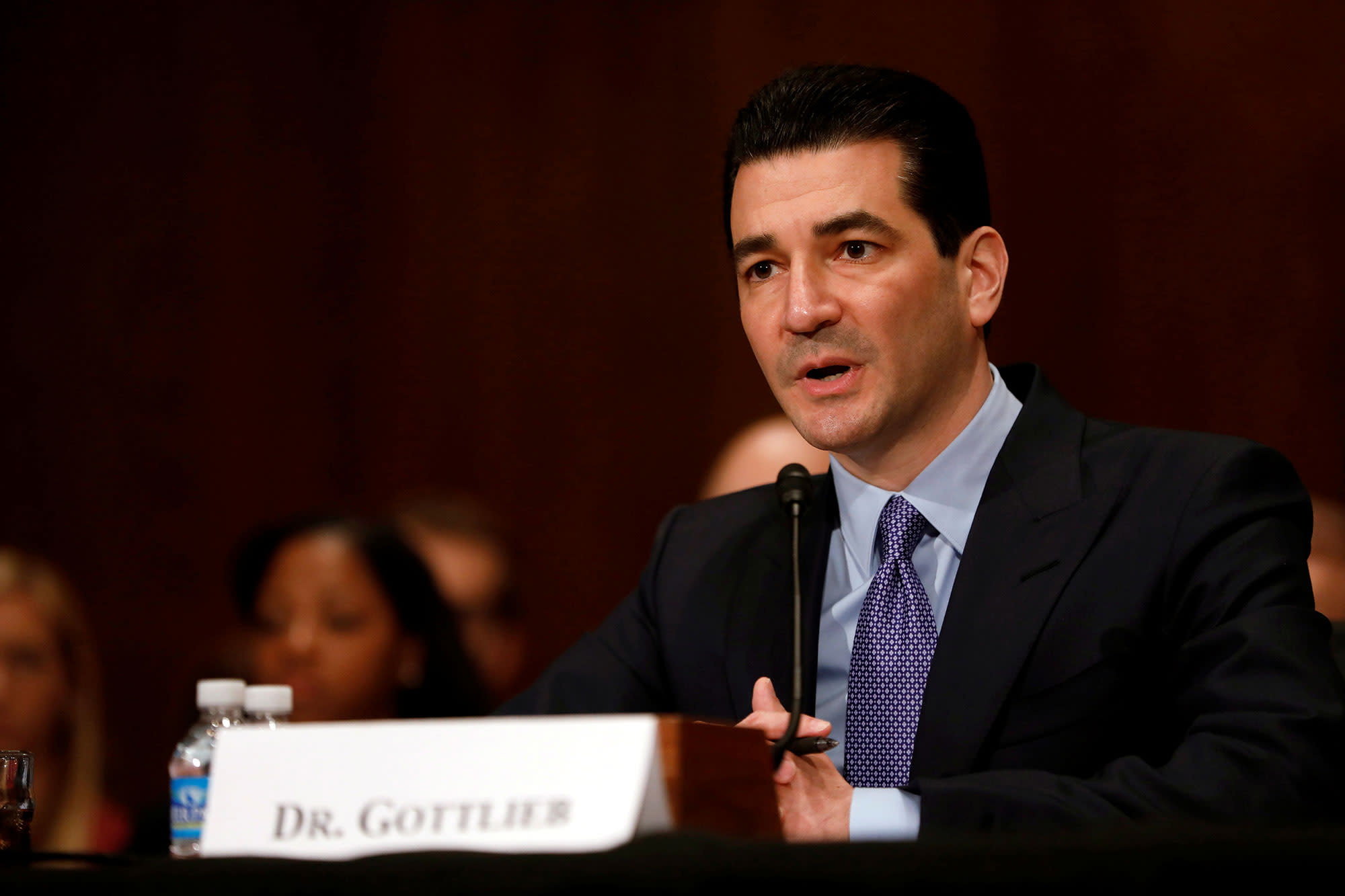 Dr. Scott Gottlieb says Americans will be getting together well before Biden's July 4 target