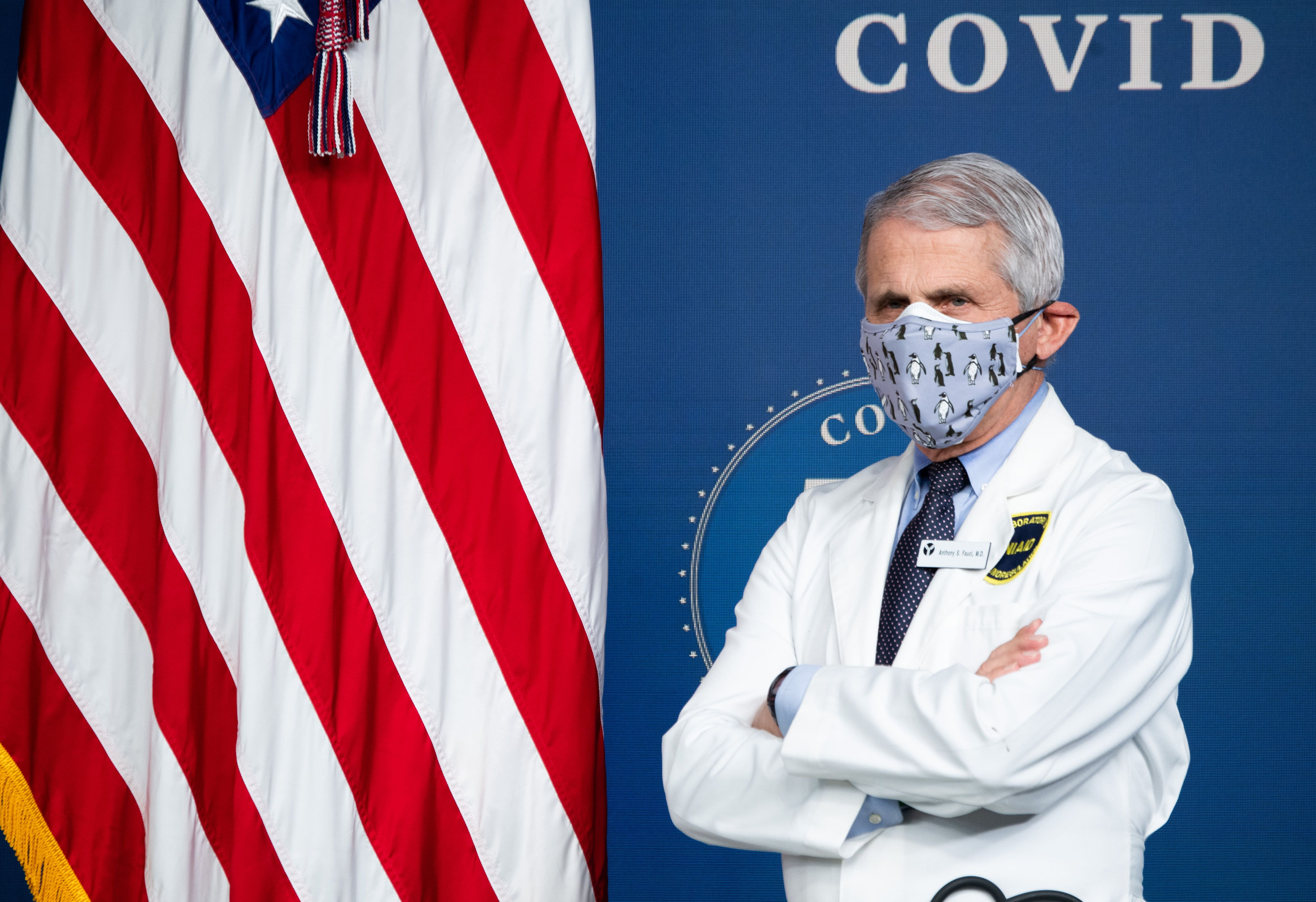 Fauci points to Covid surge in Europe as warning against lifting U.S. restrictions right now