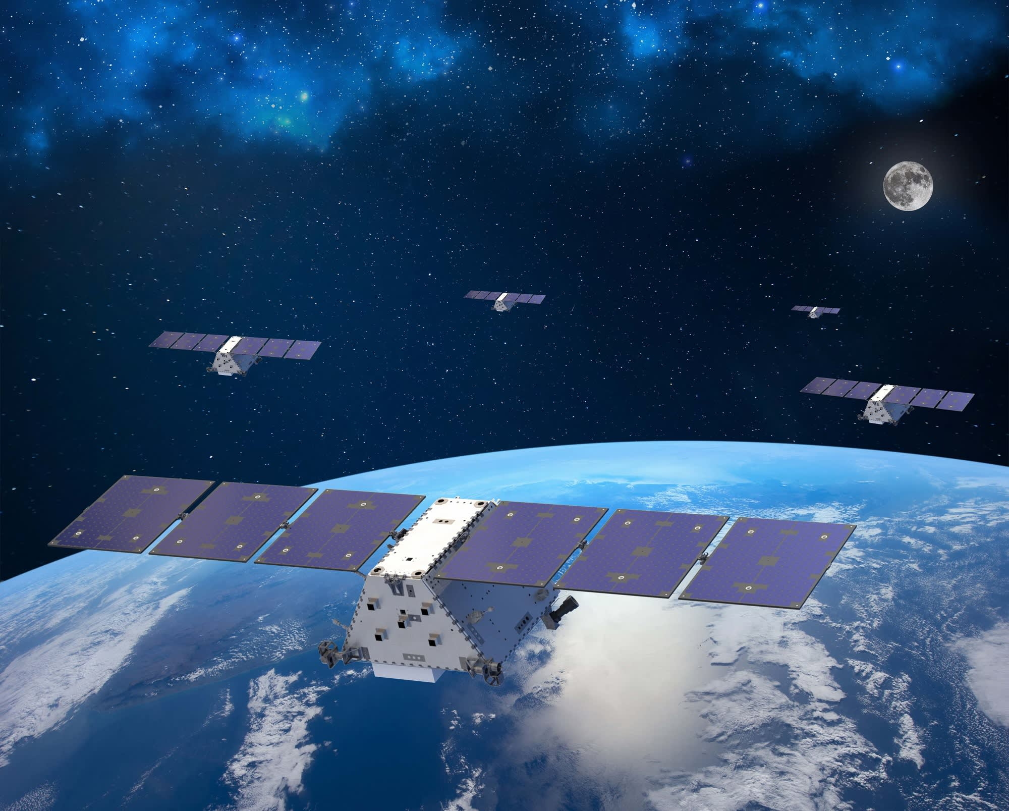 Lockheed Martin partners with satellite start-up Omnispace to build a space-based 5G network