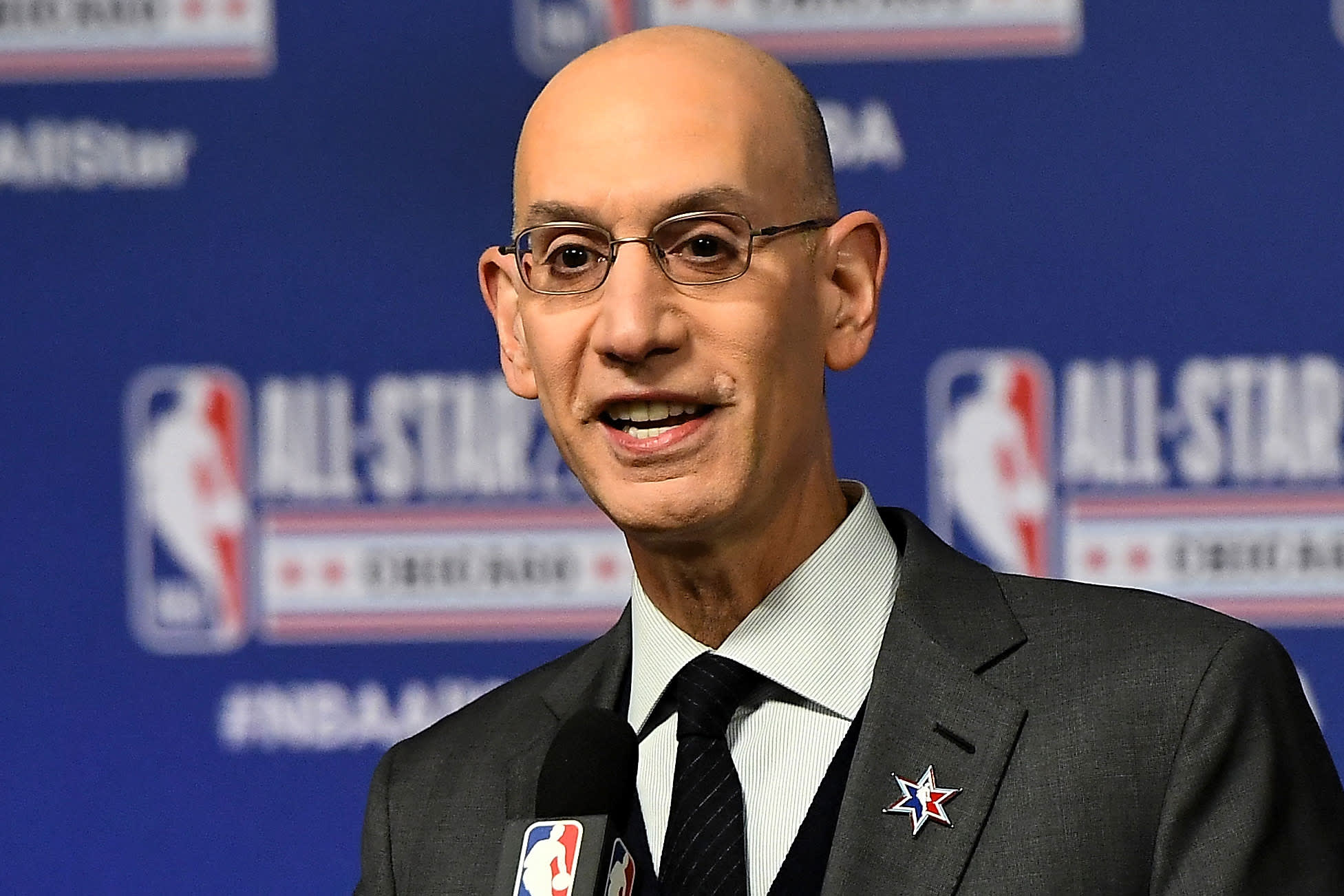 NBA Commissioner Adam Silver supports new league that pays high schoolers $100,000