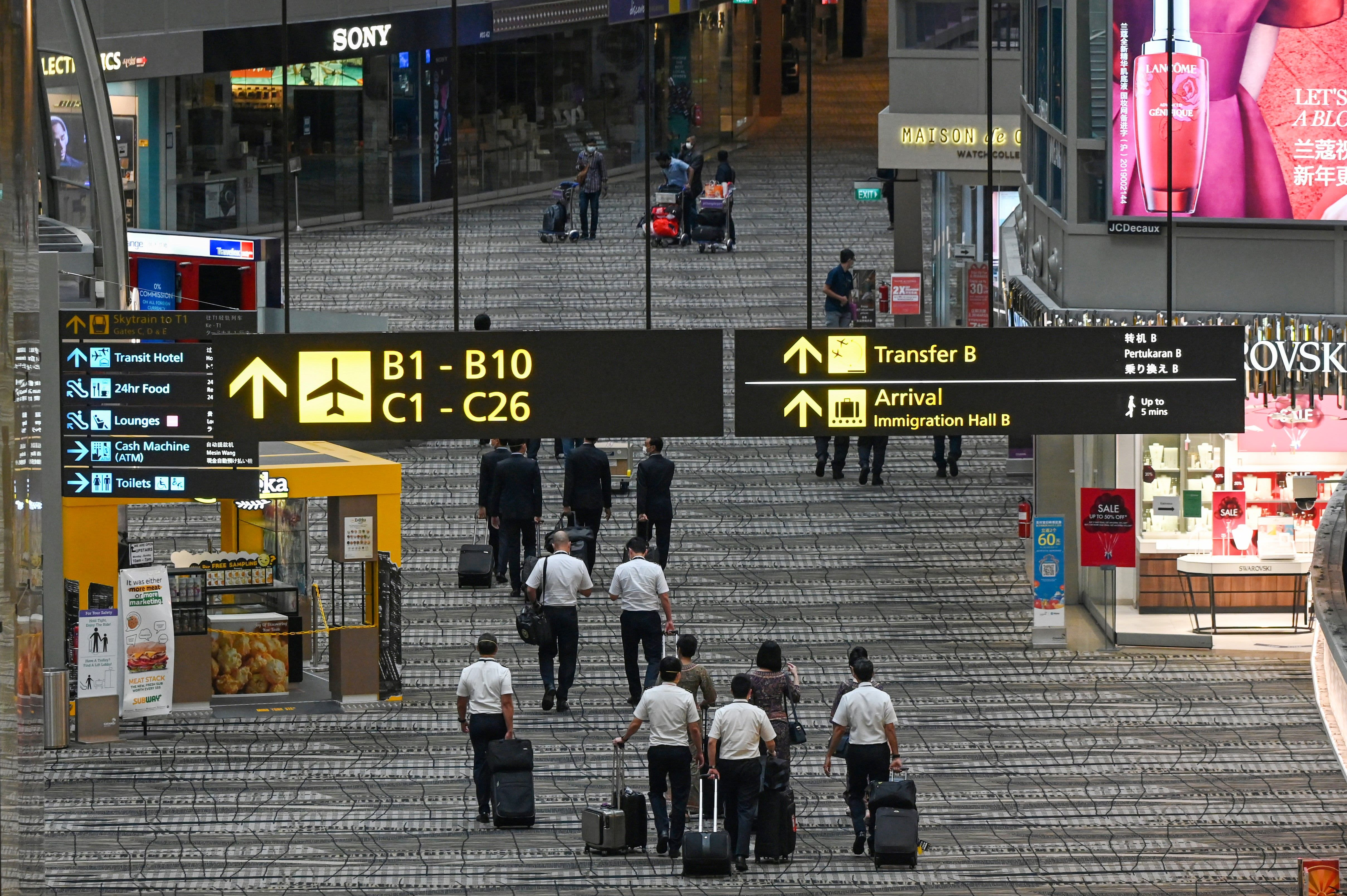 Singapore hasn't given up on air travel bubble with Hong Kong, says minister