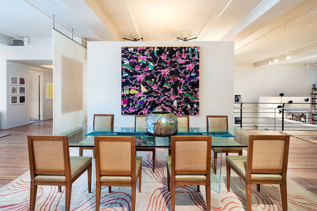 A Look at the Art in Julian Schnabel's Former $10 M. Gramercy Park Loft