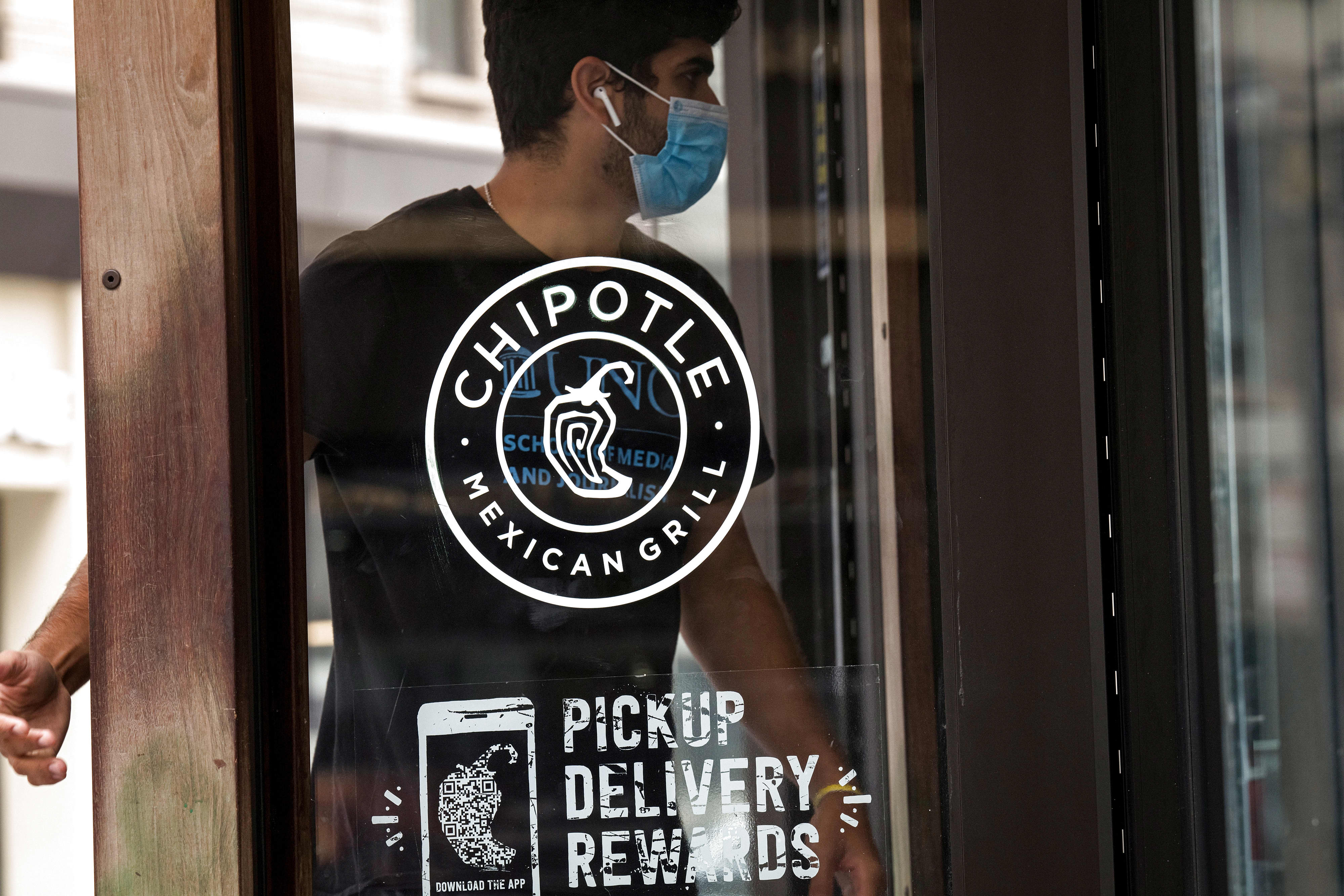 Chipotle CFO says digital sales remain strong even as dining rooms reopen from Covid closures