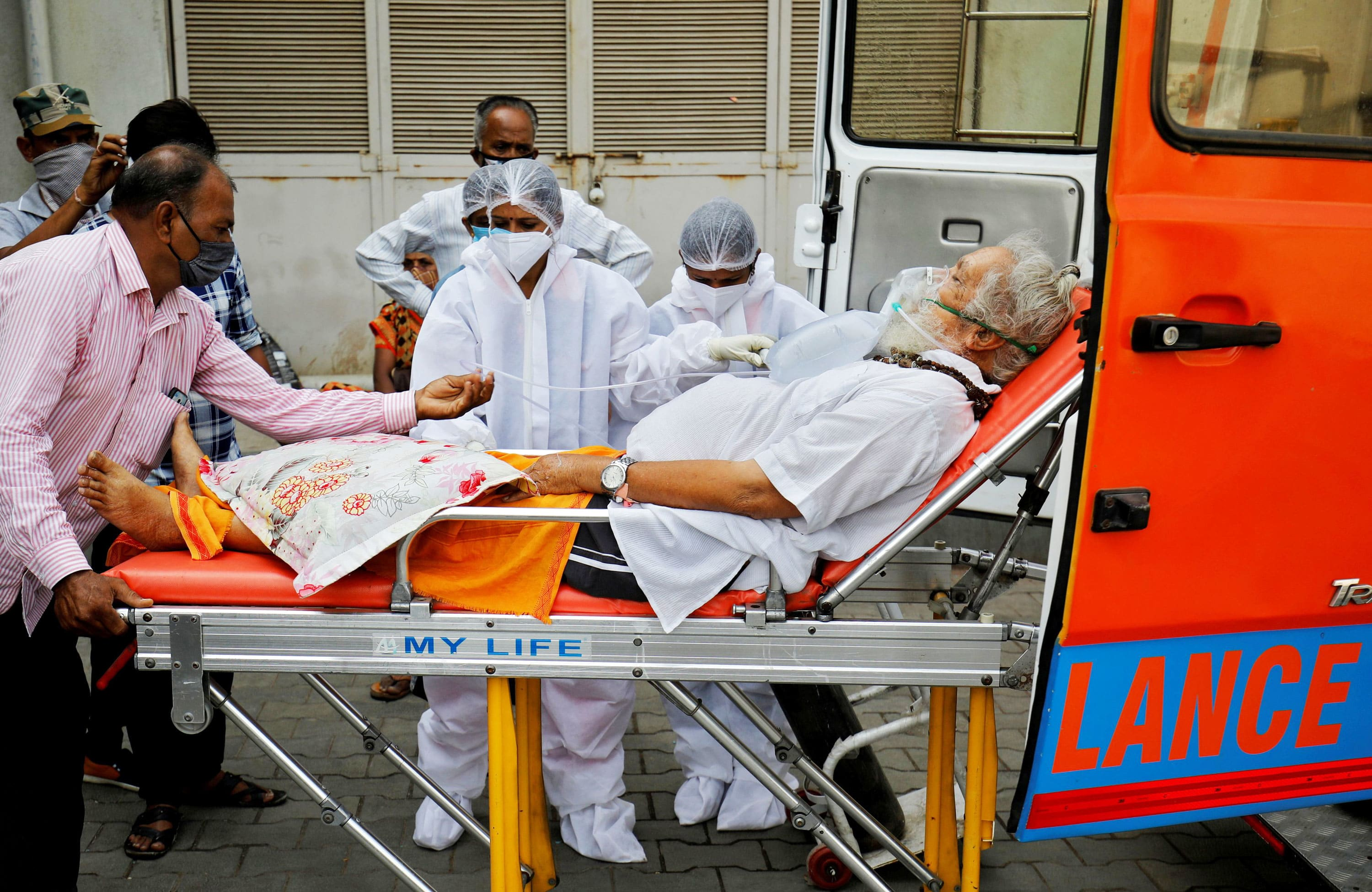 India reports record new cases and fatalities, official Covid death toll surpasses 200,000