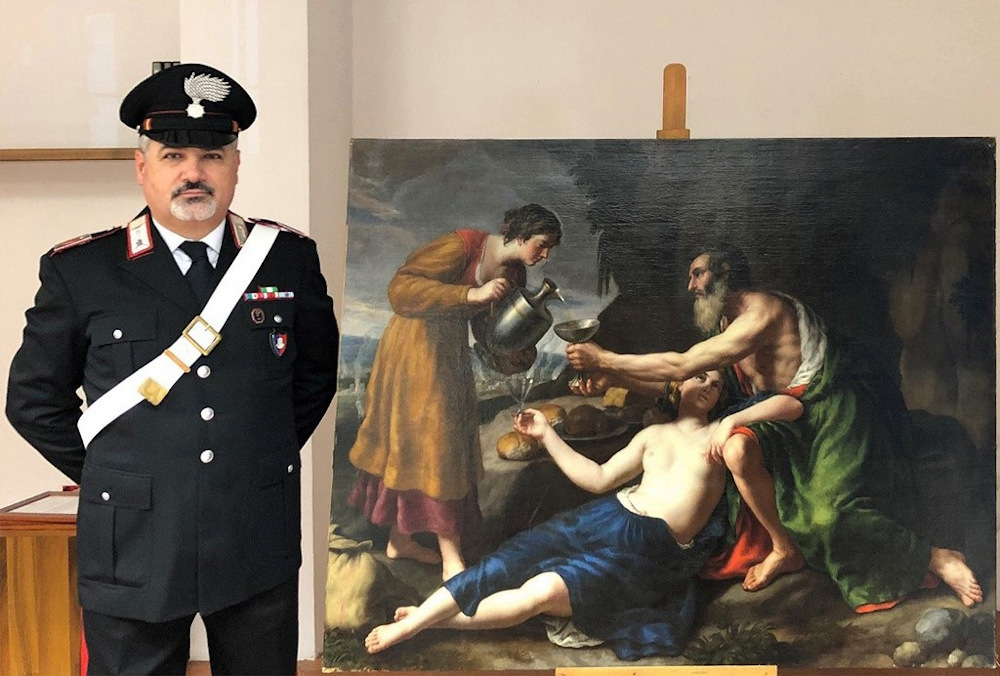 Nazi-Looted Poussin Painting Found in Italy, Returned to Owners