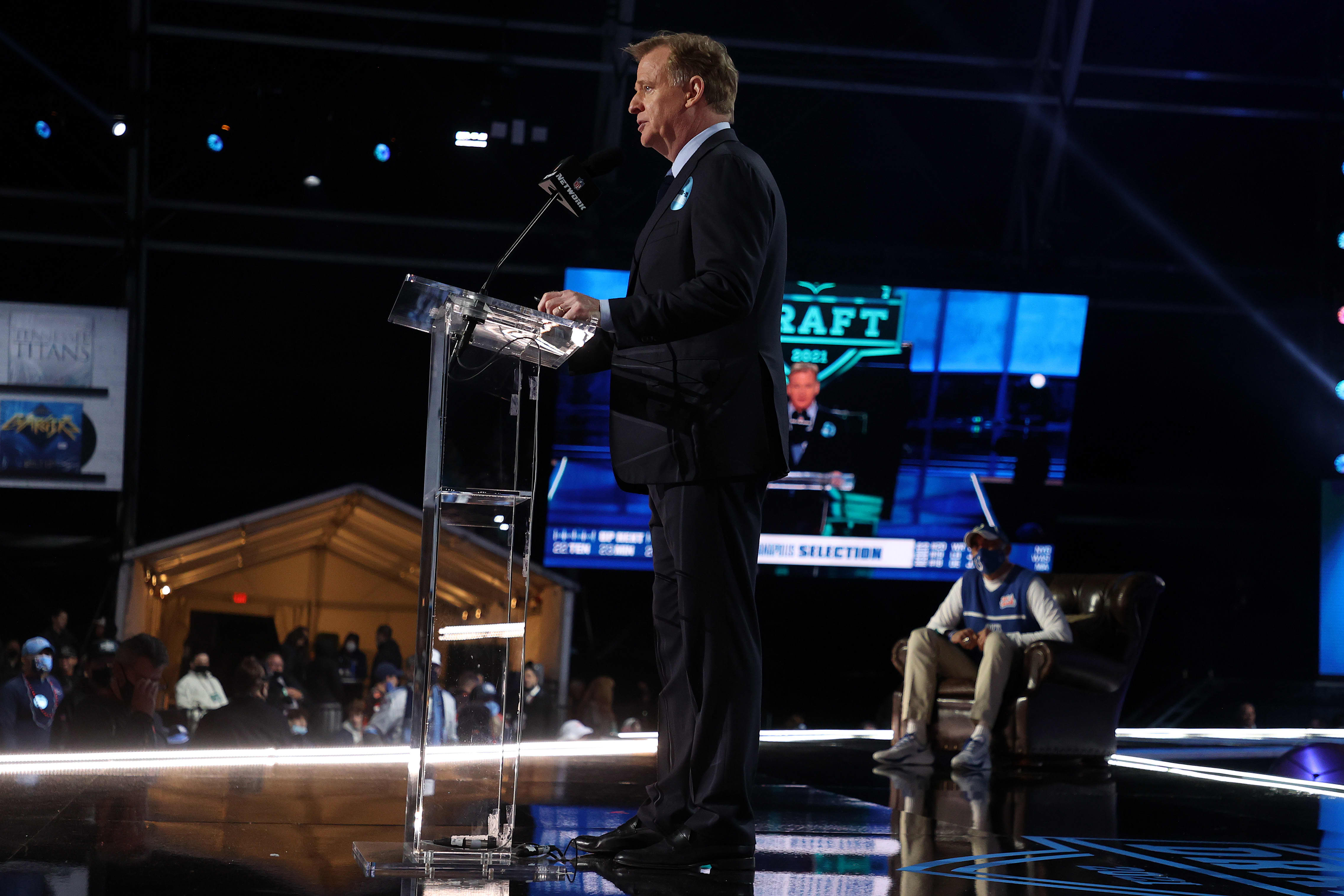 First round of the 2021 NFL Draft attracted 12.6 million viewers, second-biggest audience ever