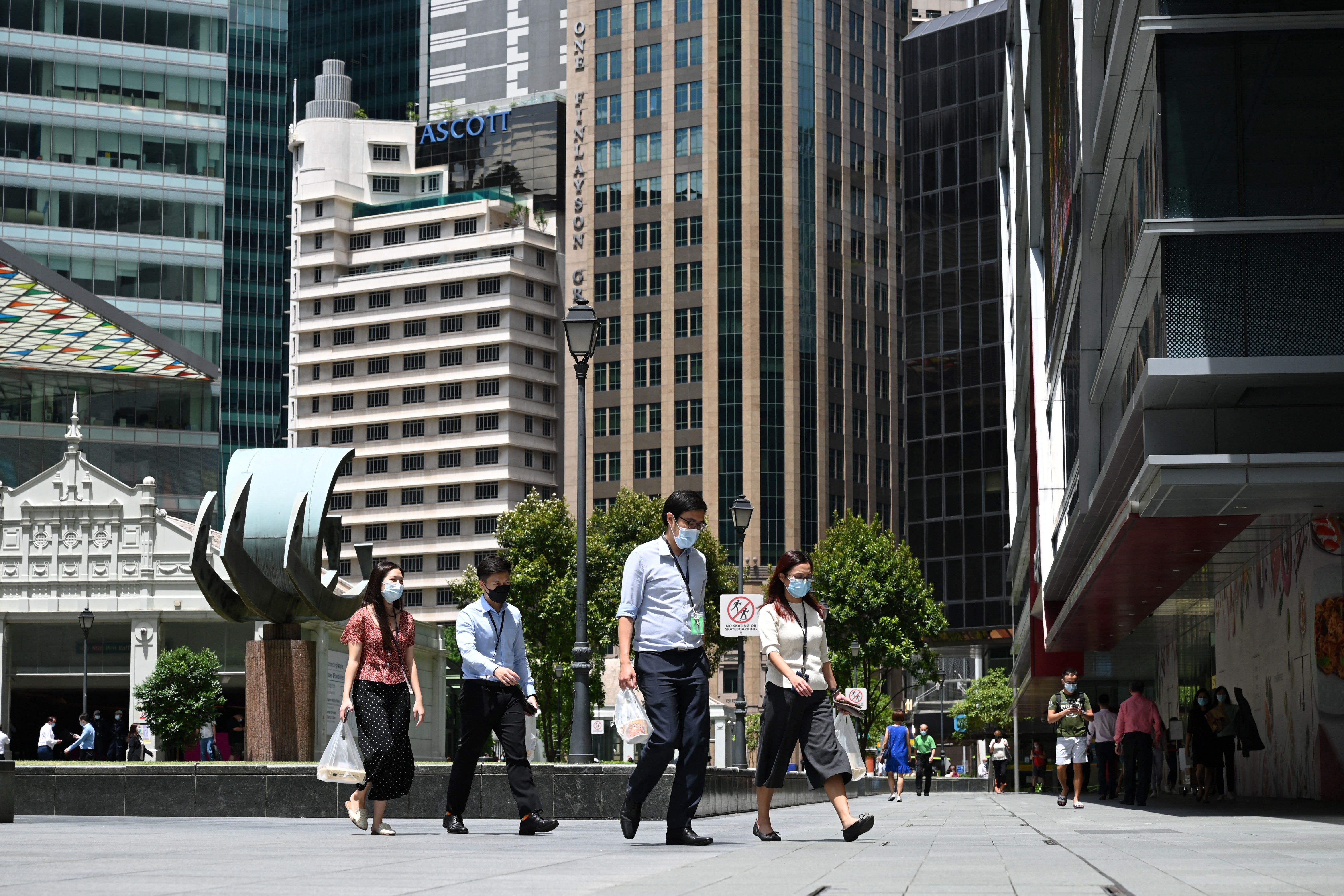 Singapore's Covid situation could start improving in a matter of weeks, professor says