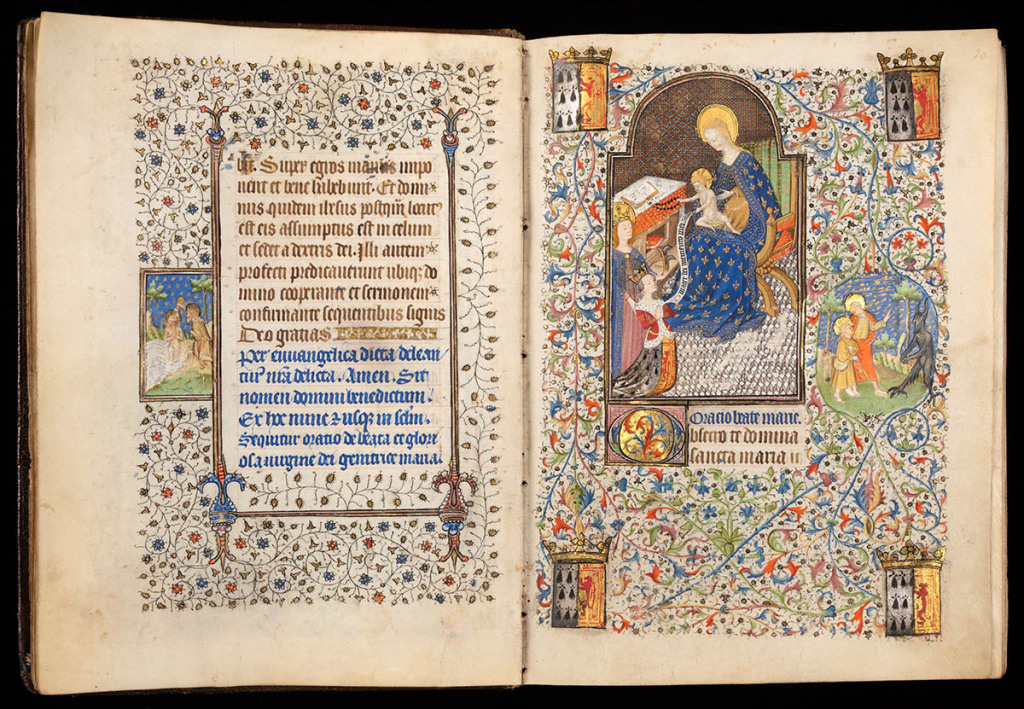 Using Near-Infrared Imaging, Researchers Discover Hidden Figure in Medieval Prayer Book