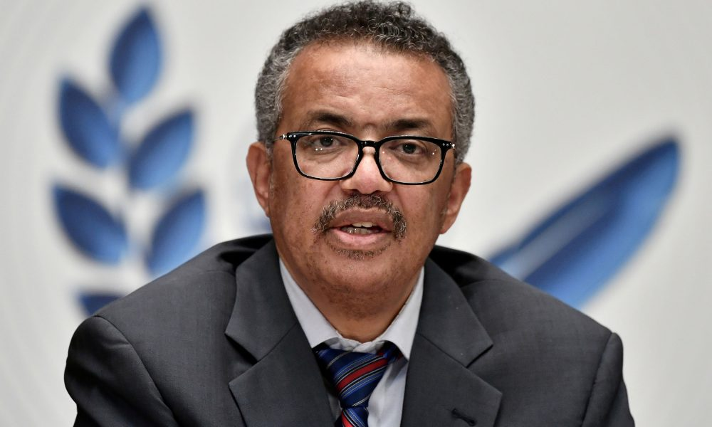 WHO chief urges world to follow U.S. lead and support waiving Covid vaccine patent protections