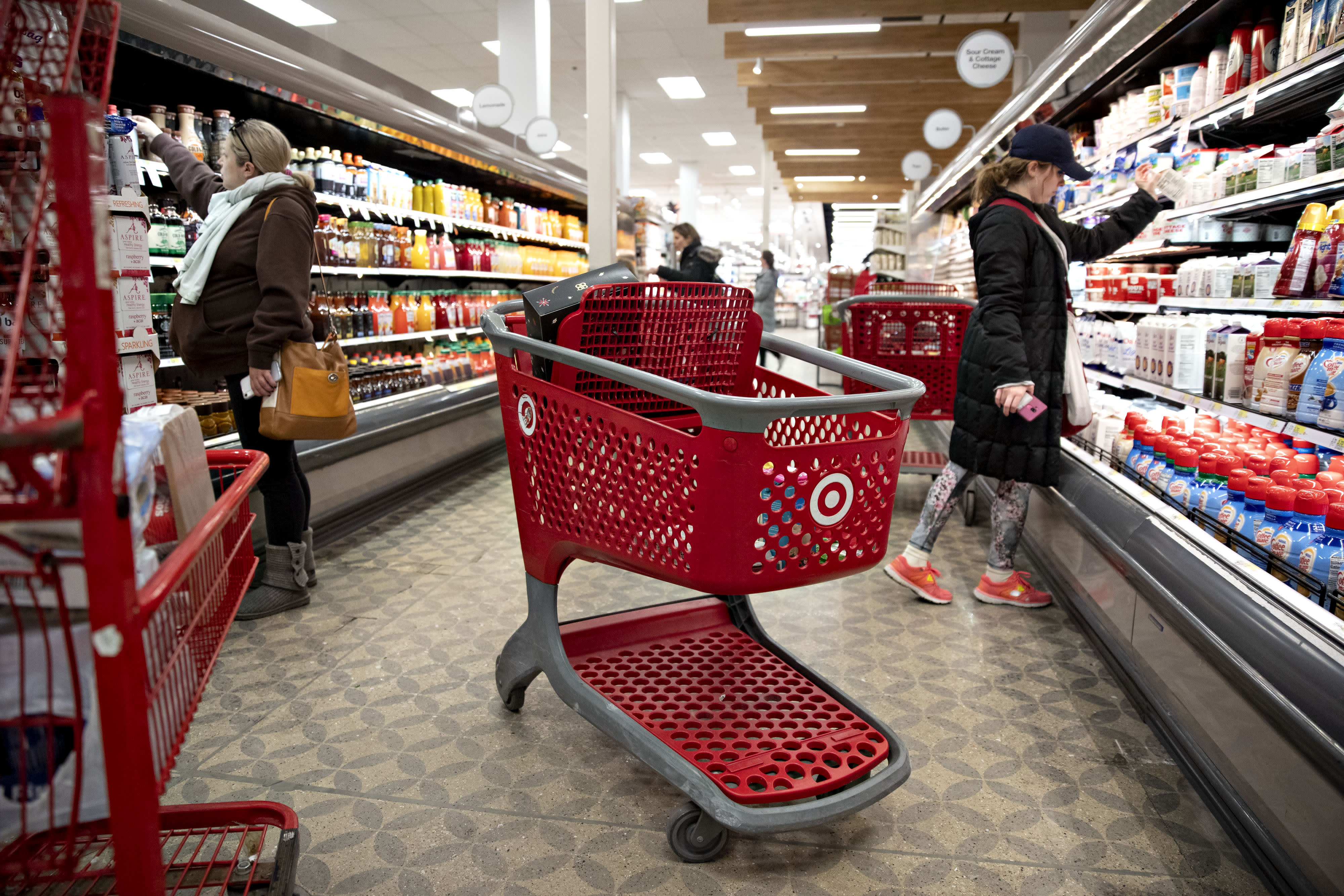 Americans are dining out again. Target wants to lure them back to the kitchen with grocery deals